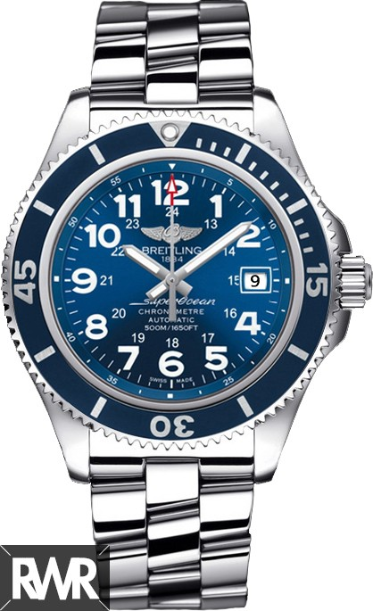 Fake Breitling Superocean II 42 Mens Watch A17365D1/C915/161A (Stainless Steel)