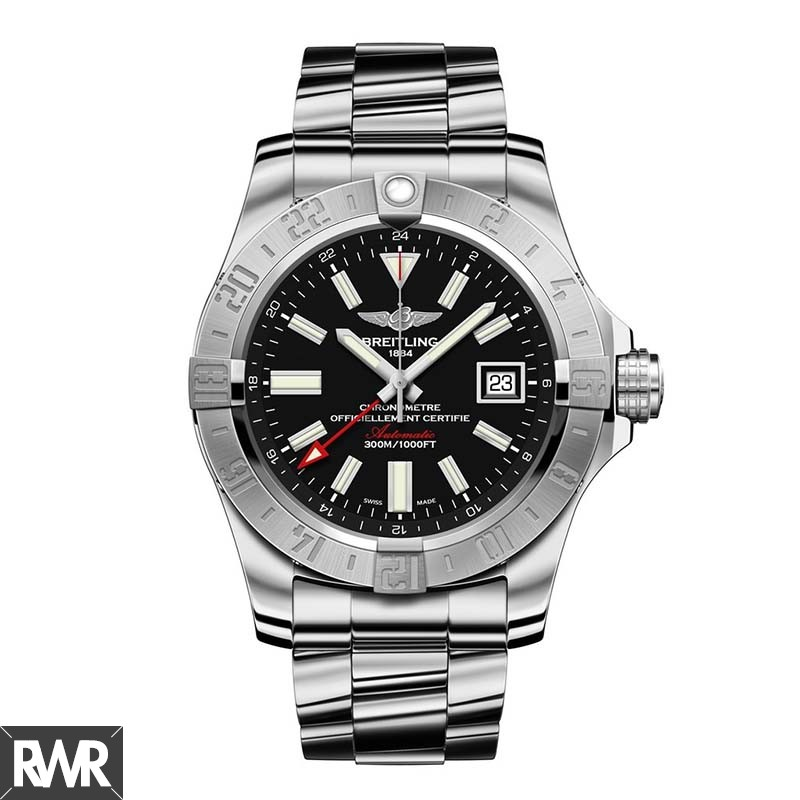 Replica Breitling Avenger II GMT Mens Watch A3239011/BC35/170A