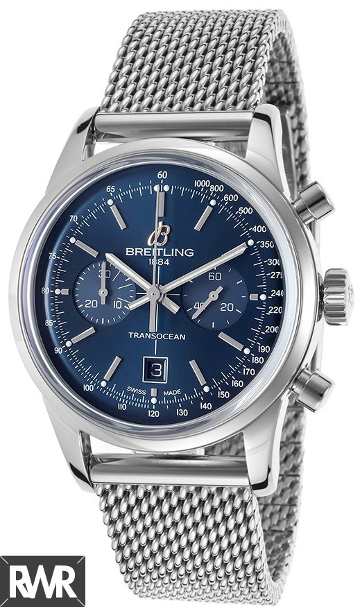 Replica Breitling Transocean Chronograph Mens Watch A4131012/C862-171A