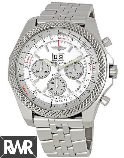 Fake Breitling Bentley 6.75 Stainless Steel Mens Watch A4436412/G679