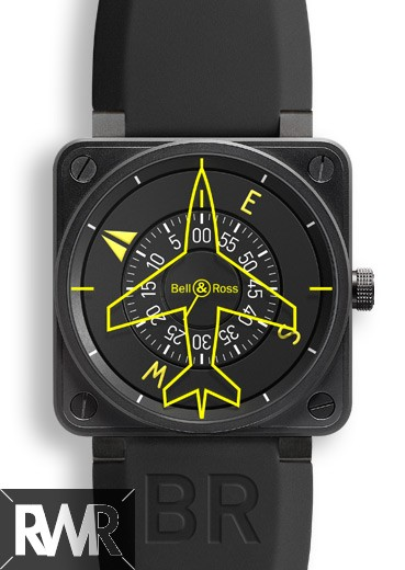 Fake Bell & Ross Aviation BR 01-92 Heading Indicator