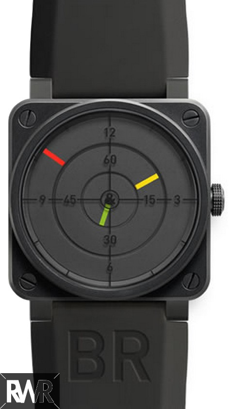 Replica Bell & Ross Aviation BR01 92 Radar 46MM Mens Watch
