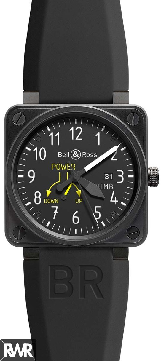 Fake Bell & Ross Aviation BR-01-97-CLIMB Automatic Watch