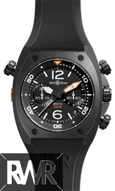Replica Bell & Ross Marine Chrono Mens Automatic Watch BR 02-94 Carbon