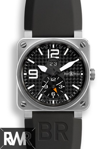 Replica Bell & Ross Aviation BR03-51GMT Titanium