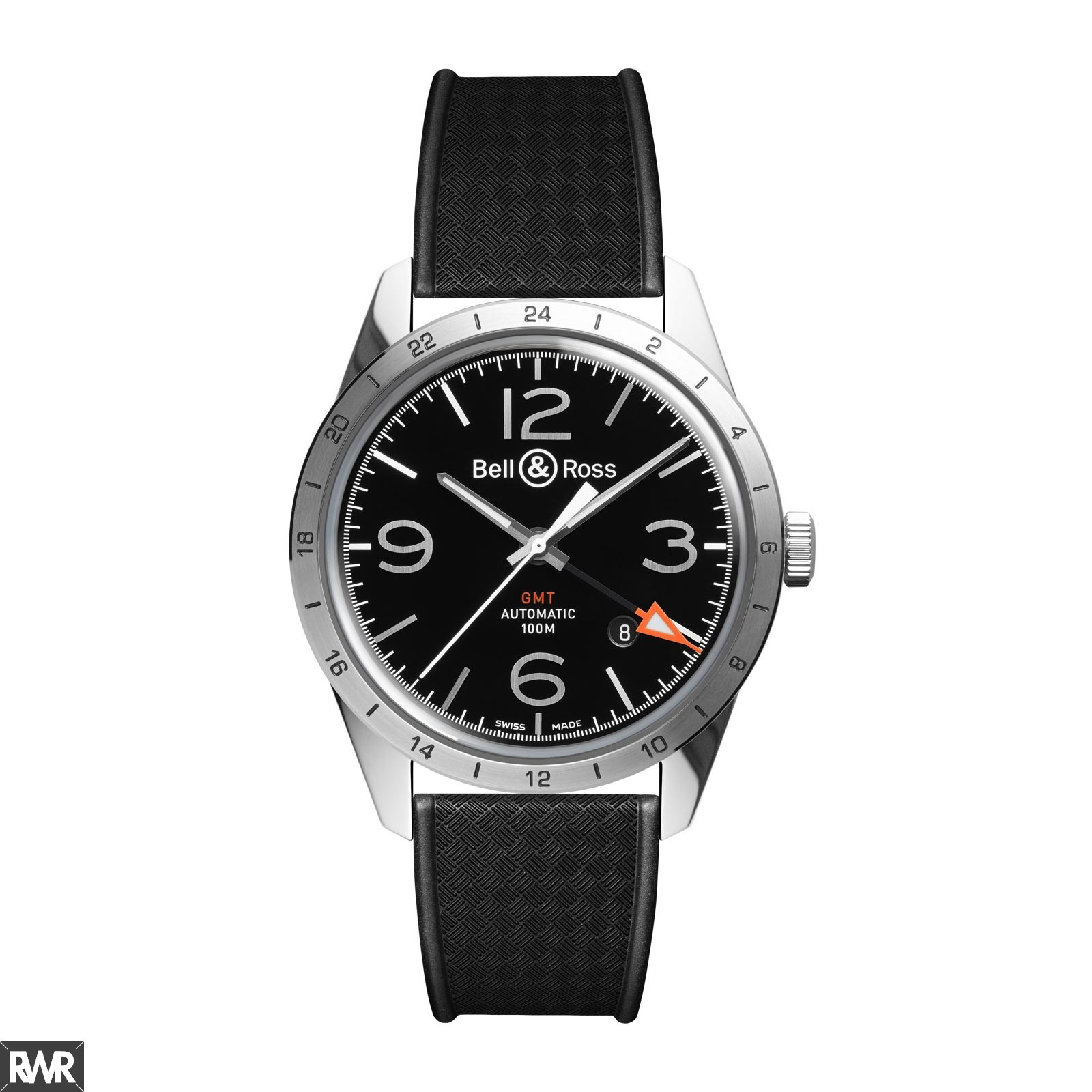 Replica Bell & Ross Vintage Collection BR 123 GMT 24H