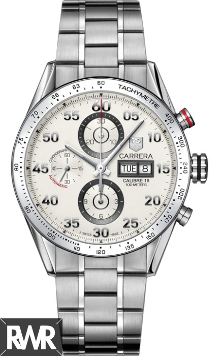 Replica Tag Heuer Carrera Automatic Chronograph Day Date CV2A11.BA0796