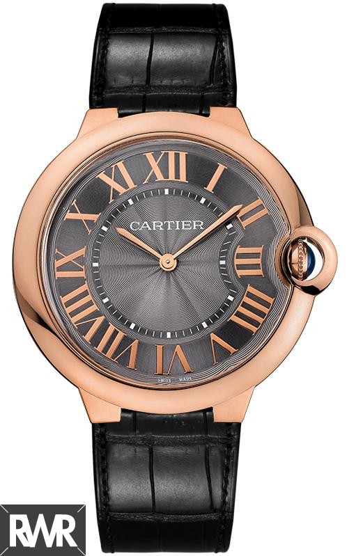 Fake Cartier Ballon Bleu de Cartier 40mm Pink Gold Watch W6920089