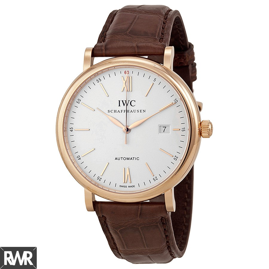 IWC Portofino Automatic Rose Gold Watch IW356504 Fake