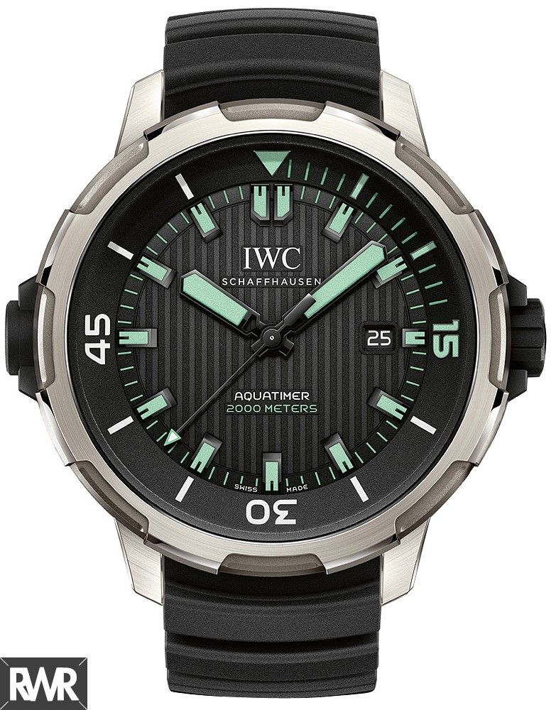 Fake IWC Aquatimer Automatic 2000 Titanium Men Watch IW358002