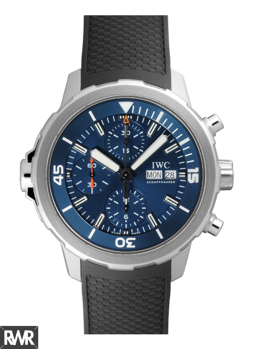 "Fake IWC Aquatimer Chronograph Edition ""Expedition Jacques-Yves Cousteau""IW376805"