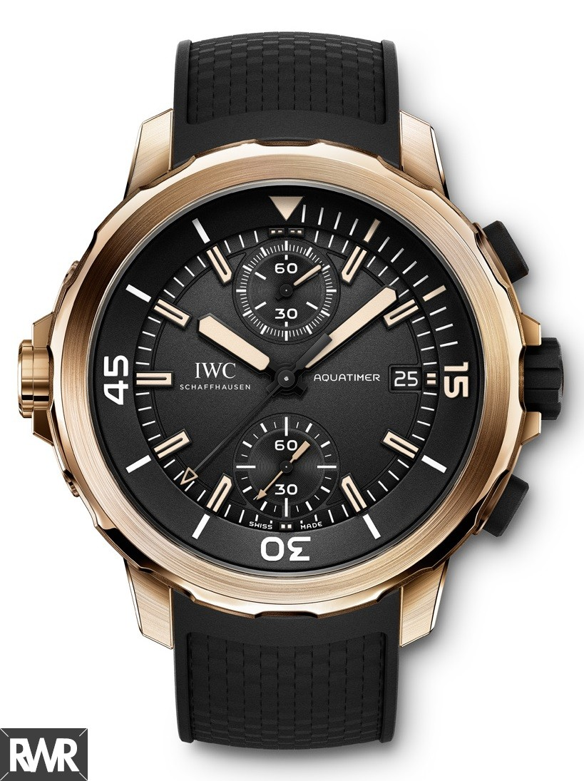 "Fake IWC Aquatimer Chronograph Edition""Expedition Charles Darwin""IW379503"