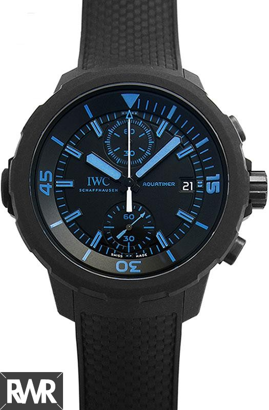 "Fake IWC Aquatimer Chronograph Edition""50 Years Science for Galapagos""IW379504"