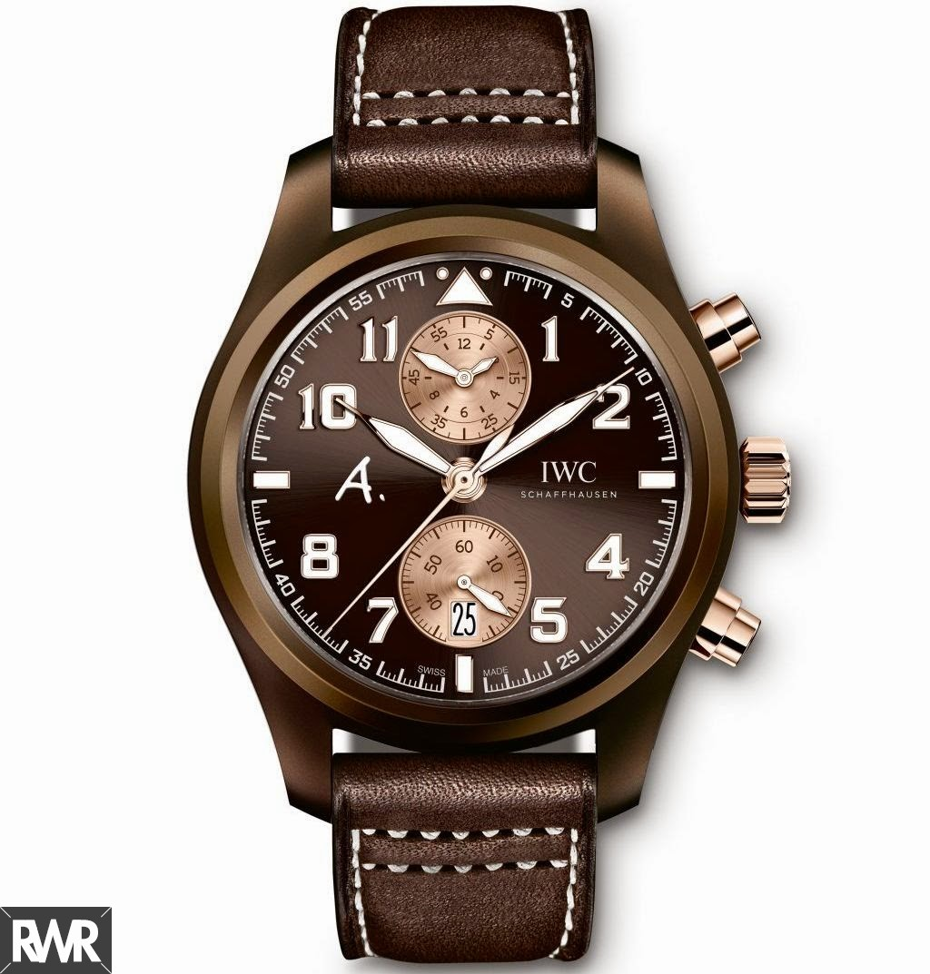 "Fake IWC Pilot's Watch Chronograph Edition""The Last Flight""IW388006"