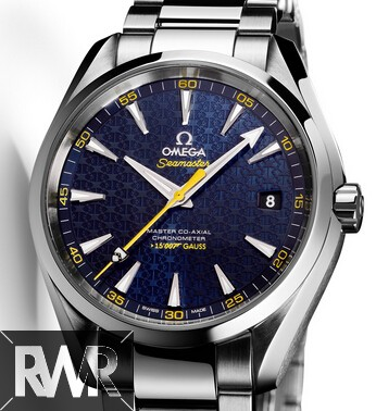 Fake Omega Seamaster Aqua Terra 150M James Bond Limited Edition