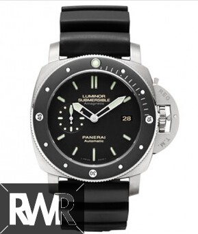 Replica Panerai Luminor Submersible 1950 Amagnetic 3 Days Automatic Titanio PAM00389