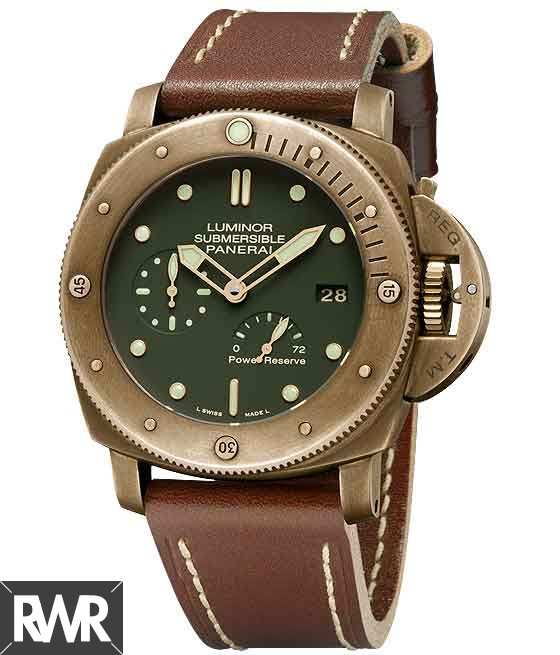 Fake Panerai Luminor Submersible 1950 3 Days Power Reserve Automatic Bronzo PAM00507