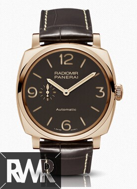 Replica Panerai Radiomir 1940 3 Days Automatic Oro Rosso 45mm PAM00573