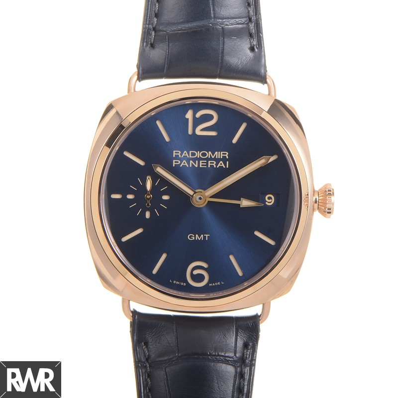 Replica Panerai Radiomir 3 Days GMT Oro Rosso 47mm PAM00598