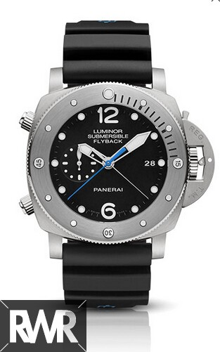 Replica Panerai Luminor Submersible 1950 3 Days Chrono Flyback Automatic Titanio 47mm PAM00614