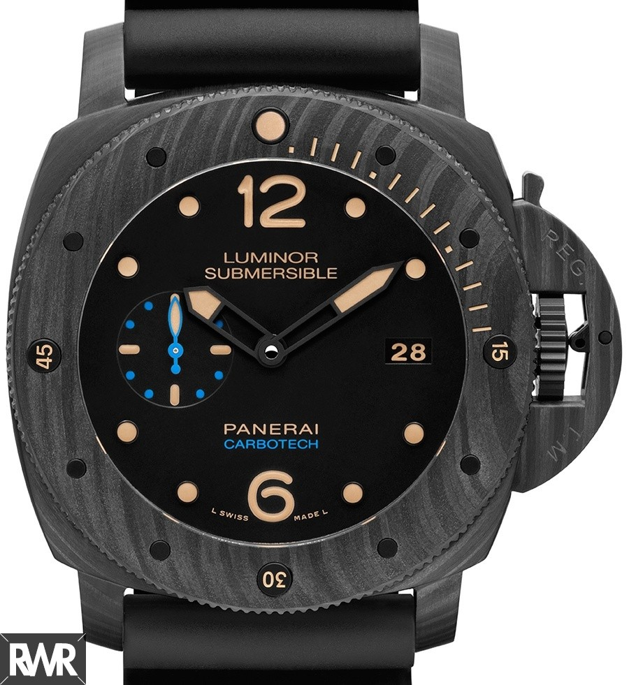 Replica Panerai Luminor submersible 1950 carbotech 3 days automatic PAM00616