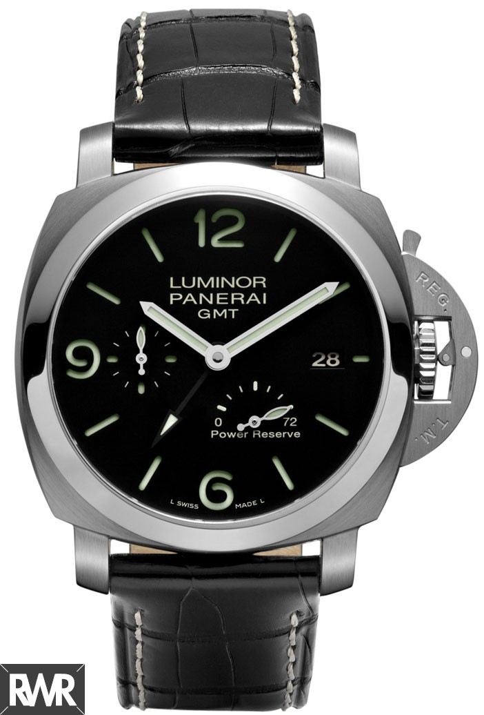 Fake Panerai Luminor 1950 3 Days GMT Power Reserve Automatic PAM 00321