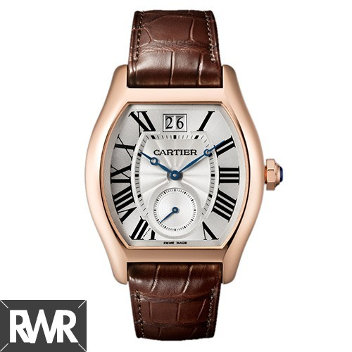 Replica Cartier Tortue Large Date Small Seconds watch W1556234