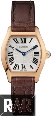 Replica Cartier Tortue Small Rose Gold Ladies Watch W1556360