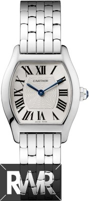 Replica Cartier Tortue Small White Gold Watch W1556365