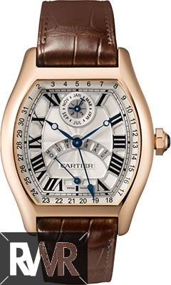 Replica Cartier Tortue Automatic Perpetual Calendar Mens watch W1580045