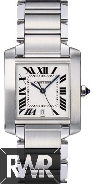 Cartier Tank Francaise Large Steel W51002Q3 Fake