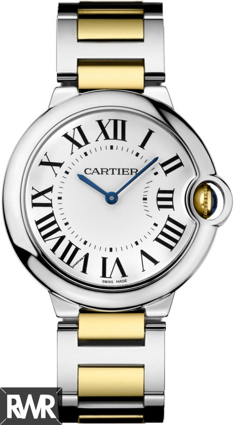 Replica Cartier Ballon Bleu 36mm Ladies Watch W69008Z3