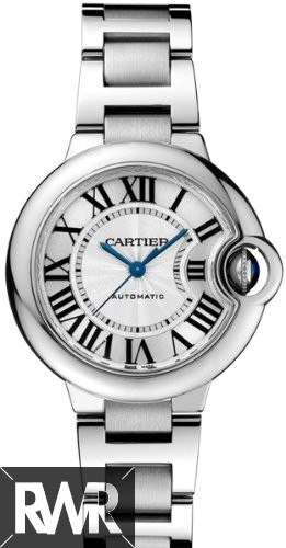 Cartier Ballon Bleu 33mm Stainless Steel W6920071 Fake