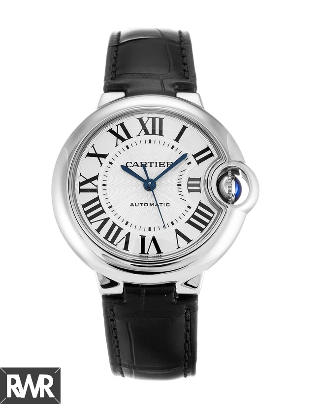 Cartier Ballon Bleu de Cartier watch 33 mm steel W6920085 Fake