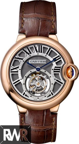fake Ballon Bleu de Cartier Flying Tourbillon watch W6920104