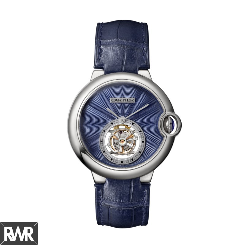 fake Cartier W6920105 BALLON BLUE DE 39mm WHITE GOLD 2016