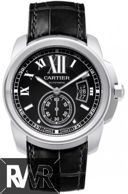Cartier Calibre de Cartier 42mm Mens Steel Automatic Watch W7100041 Fake