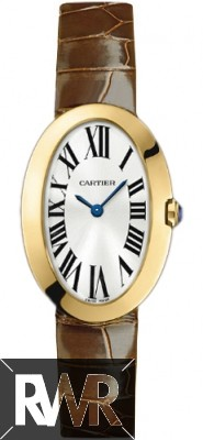 Replica Cartier Baignoire Small Quartz Yellow Gold W8000009