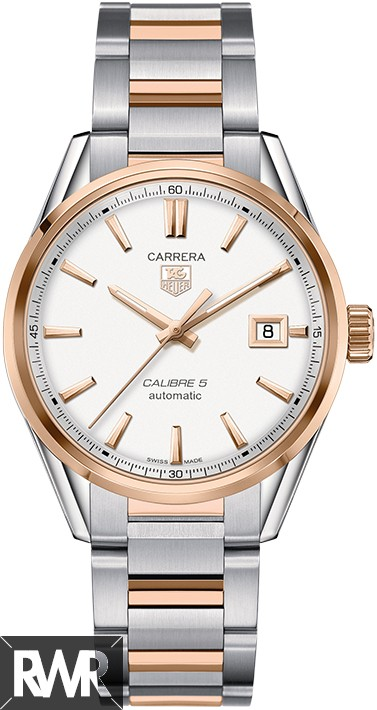 Fake Tag Heuer Carrera Price Calibre 5 Automatic Watch 39 mm WAR215D.BD0784