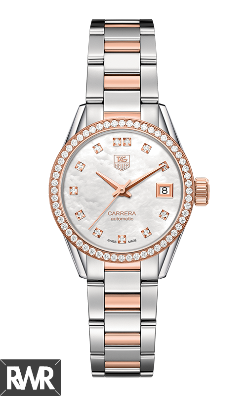Replica Tag Heuer Carrera Calibre 9 Ladies 28mm WAR2453.BD0772