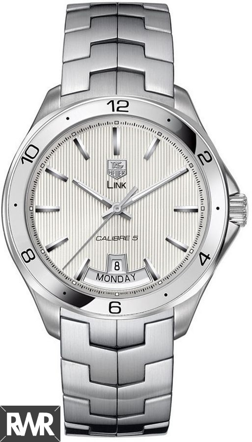 Replica Tag Heuer Link Calibre 5 Day-Date Automatic watch 42 mm WAT2011.BA0951