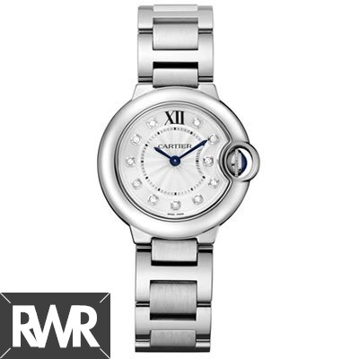 Replica Cartier Ballon Bleu 28mm Ladies Watch WE902073