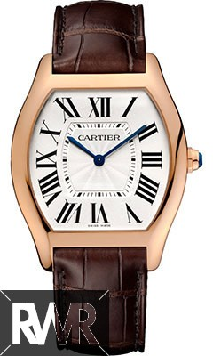 Replica Cartier Tortue Large Pink Gold Watch WGTO0002