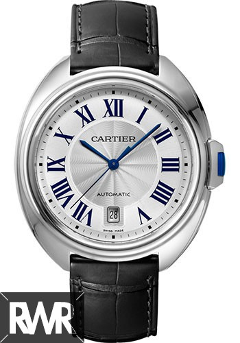AAA grade Cartier Cle De Cartier Automatic 40mm Stainless Steel Mens WSCL0018 Replica