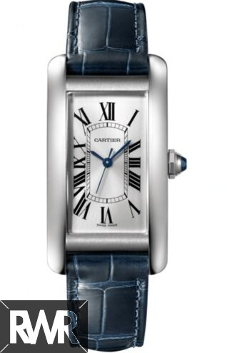 Cheap AAA Replica Cartier Tank Americaine Automtic Silver Dial Ladies WSTA0017