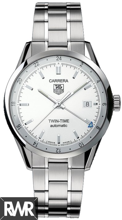 Replica Tag Heuer Carrera Calibre 7 Twin time Automatic watch 39 mm WV2116.BA0787