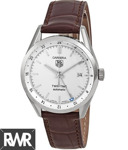 Replica Tag Heuer Carrera Calibre 7 Twin time Automatic watch 39 mm WV2116.FC6181