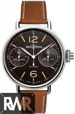 Replica Bell & Ross Vintage WW1 Chronograph Monopoussoir Mens Watch