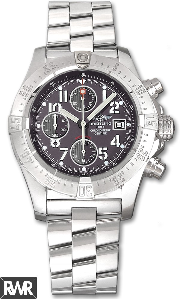 Replica Breitling Avenger Chronograph Stainless Steel Gray Dial A1338012/F547 ND11F1