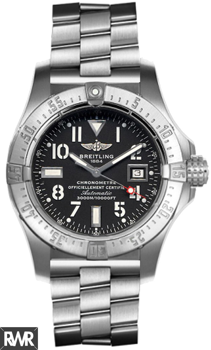 Replica Breitling Avenger Seawolf Stainless Steel Watch A1733010/B906